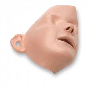 The Laerdal® Resusci Junior / Little Junior - Replacement Faces - 6 Per Pack