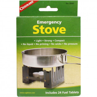 The StanSport Portable Stove with 8 Fuel Tablets