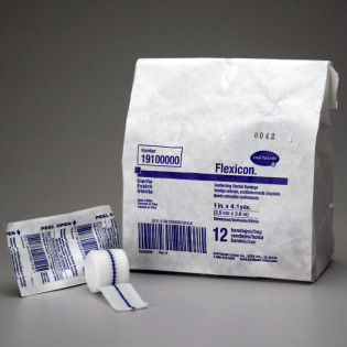 """The First Aid Store™ Conforming Gauze Roll Bandage, Sterile 1"""" - 12 Per Bag"""
