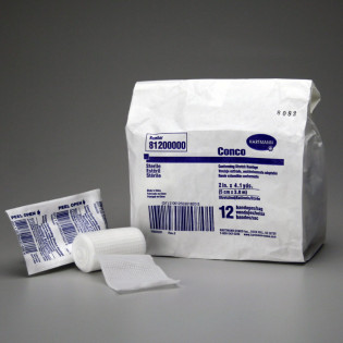 "The First Aid Store™ Conforming Gauze Roll Bandage, Sterile 2"" - 12 Per Bag"