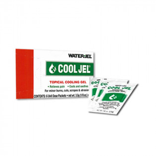 The Water Jel® Cool Jel Burn Relief - 3.5 gm. - 6 Per Box