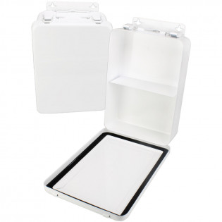 The First Aid Store™ Empty Metal Case, 16 Unit w/ Gasket - Vertical