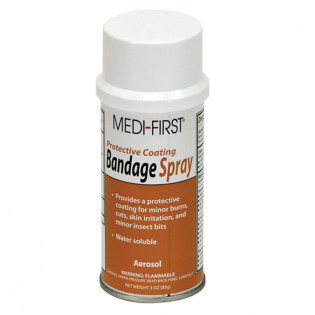 The First Aid Store™ Bandage Spray, 3 oz. Aerosol - 1 Each