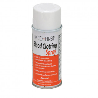 The First Aid Store™ Blood Clotting Spray, 3 oz. Aerosol - 1 Each