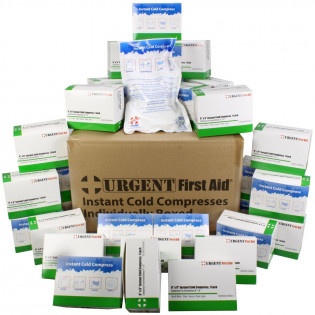 "The Urgent First Aid™ Instant Cold Compress, Boxed 6""x9"" - 32 Per Case"
