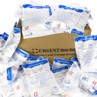 "The Urgent First Aid™ 6""x9"" Instant Cold Compress, 50 Per Case"