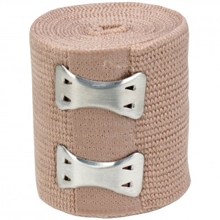 "The First Aid Store™ 2"" x 5 yd Elastic (Ace) Bandage w/ 2 Fasteners - 1 Each"
