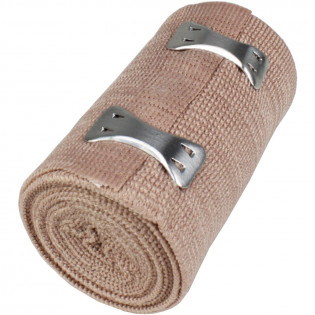 "The First Aid Store™ 3"" x 5 yd Elastic (Ace) Bandage w/ 2 Fasteners - 1 Each"