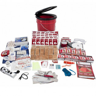 The Guardian Survival Gear 5 Person Guardian Bucket Survival Kit