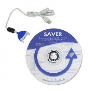 The HearSine Saver® EVO Software (CD ROM) & USB data cable