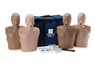 The PRESTAN Diversity Professional Adult  CPR Training Manikins 4-Pack