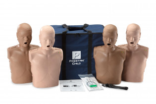 The PRESTAN Diversity Professional Child CPR Training Manikins 4-Pack