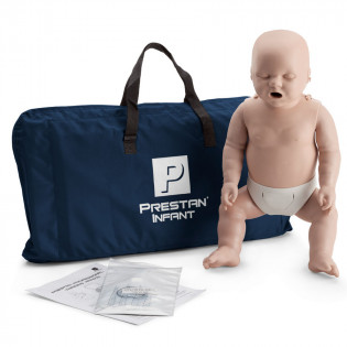 The Prestan™ Infant CPR Mannequin w/o Monitor - Medium Skin