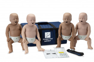 The PRESTAN Diversity Professional Infant CPR Training Manikins, 4-Pack