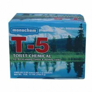 The MayDay Industries Emergency Gear Port-A-Potty Chemicals (T-5) 1 Packet