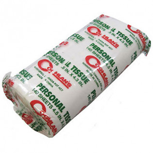 The MayDay Industries Emergency Gear Campers Single Roll of Toilet Paper