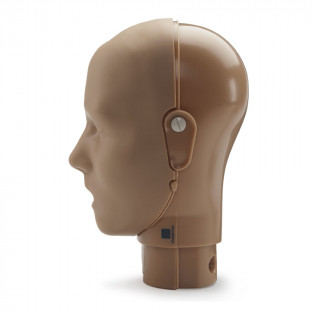 The Prestan™ Adult Mannequin Head Assembly - Dark Skin