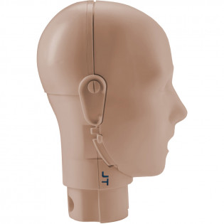The Prestan™ Adult Mannequin Head Assembly - Medium Skin