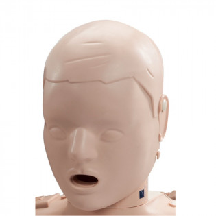 The Prestan™ Child Mannequin Head Assembly - Medium Skin