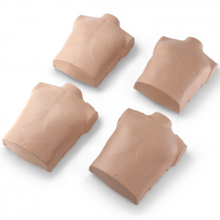 The Torso Replacements for Prestan Child Mannequins - 4 Pack - Medium Skin