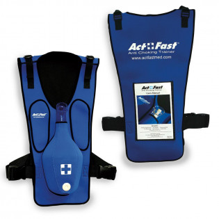 The Act+Fast Anti-Choking Blue Trainer - Single Trainer