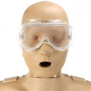 The Chemical and Bodily Fluid Splash Goggles