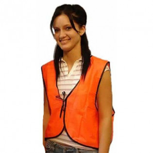 The MayDay Industries Emergency Gear Safety Vest Orange