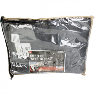"The Emergency Gear 60-70% Wool Blanket 60"" x 80"""