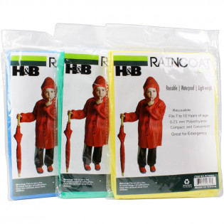 The MayDay Industries Emergency Gear Emergency Poncho Kids Heavy Duty
