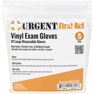 The Disposable Gloves, Large, 5 Pair Per Bag
