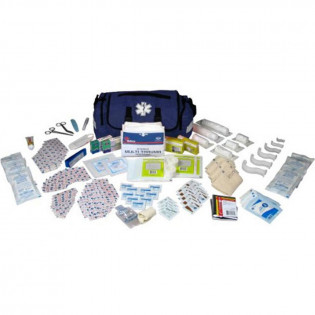 The Urgent First Aid™ On Call First Responder Kit - 147 Piece - Blue