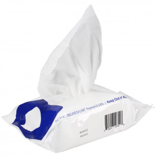The EPA Registered Surface Disinfectant Kills COVID, 35 Large Wipes
