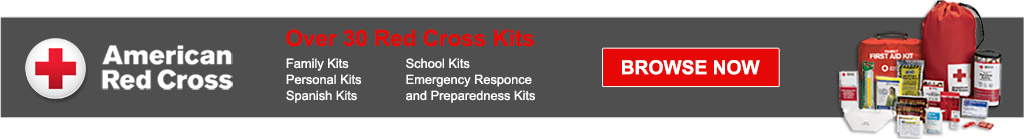 American Red Cross. Over 20 Kits: Family Kits, personal kits, spanish kits, school kits, emergency response, and preparedness Kits. Browse Now!