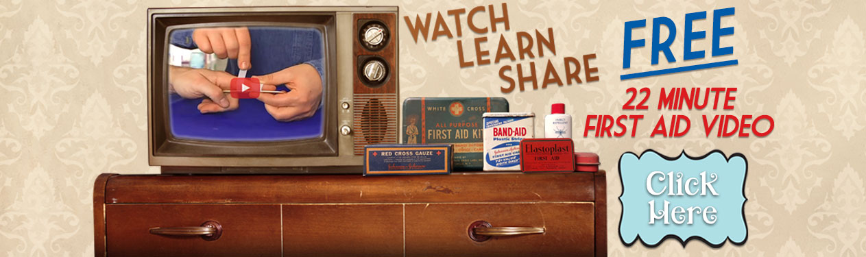 How to use a first aid kit video