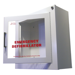 Image of AED Wall Cabinet with Alarm