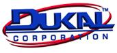 Graphic of dukal logo
