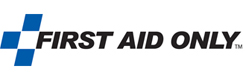 Graphic of First Aid Only logo