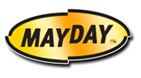 Graphic of Mayday logo