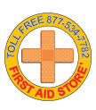 Graphic of First Aid Store Logo